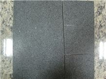 China G654,Sesame Black,China Impala Honed Slabs & Floor Tile, Outdoor Pavers, Brick Paving Tile on Mesh, Mesh Paver,Cobble Stone, Cube Stone, Paving Sets, Floor Covering, Courtyard Paver, Step Paveme