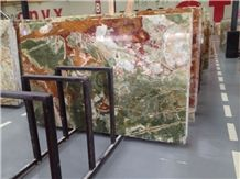 Various Colors Of Onyx Tile and Slab for Countertops, Exterior - Interior Wall and Floor Applications, and Wall Cladding