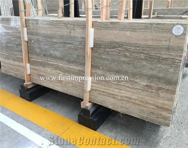 Cheap Silver Grey Travertine Slabspersian Silver Travertine Tiles