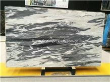 China Impression Grey Marble Big Slabs & Tiles/Dark Ink Marble Tiles & Slabs/Crystal Ink Marble Glassy Wall Covering & Flooring Tiles
