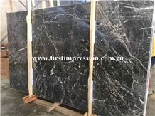 Dark Grey Marble/New Polished Star Grey Marble Slabs & Tiles/Universe Grey(Black) Marble Slabs/Cut to Size/Floor & Wall Covering/Interior & Exterior Decoration/Made in China Marble Big Slabs