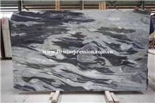 Hot Sale Dreaming River Grey Marble/New Material Marble/Best Price China Marble Big Slabs/Gray Marble for Wall & Floor Covering Tiles