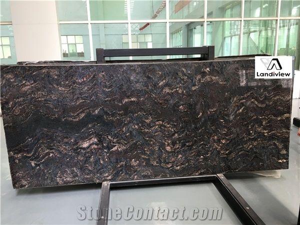 Earth Glitter Slabs, Earth Glitter Tiles from China