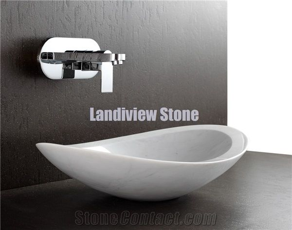 Modern Bathroom Basins Trendy White