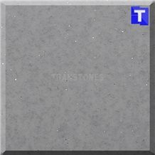 Composite Acrylic Stone Galaxy Grey Glass Slabs with Mirror Glass, Solid Surface Artificial Decorative Marble Sheet Panels Tiles for Wall,Floor Covering Kitchen Bathroom Counter Tops Project Design Ma