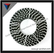 Diamond Rubberized Wire Saw, Granite and Marble Cutting, Rope Saw, Stone Tools, Granite and Marble Cutting Tools, Diamond Tools, Stone Quarry Cutting