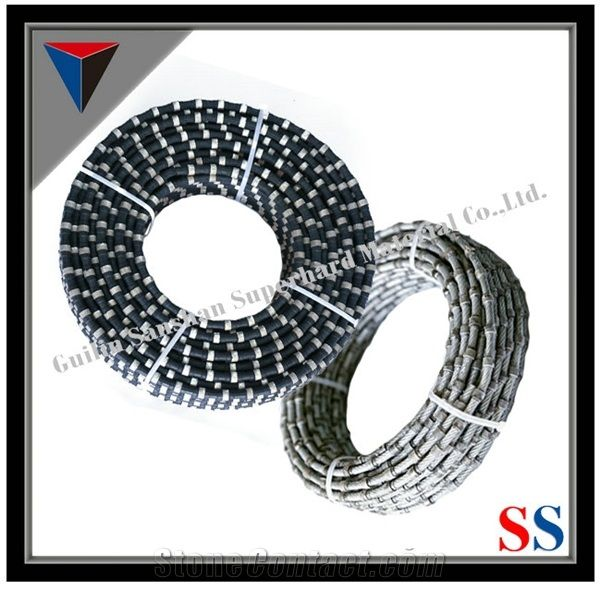 Factory Outlet,Rope Saw, Diamond Wire Saw, Diamond Rubberized