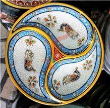 Marble Pooja Plates