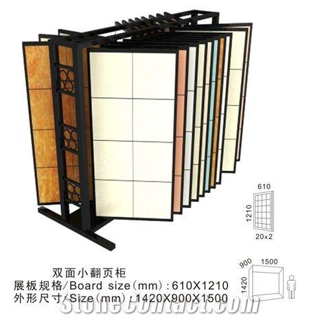 Ceramic Tile Display Metal Tile Rack Loose Tile Rack Mdf