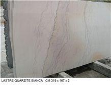 Quarzite Bianca Slabs, Cuarcita Blanca