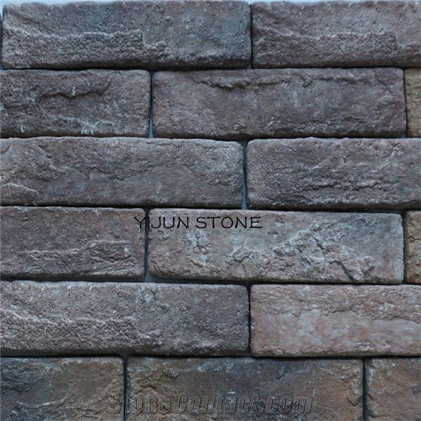 Black Split Face Slate Culture Stone,Natural Stone Veneer ...