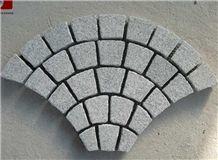 G682 Granite Paving Stones,10*10 Granite Pavers,Yellow Granite Cubes