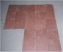 Red Handmade Terracotta Tile