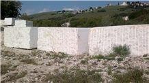 Bianco Perlino, Biancone Asiago White Perlino Marble Blocks