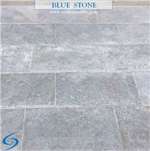 Blue Stone Marble (Afyon Silver Tumbled)