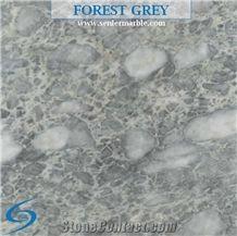 Forest Grey Marble Slabs & Tiles, Turkey Grey Marble, Grey Marble, Indoor Marble, Golden Veins