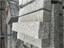Cheap China Light Grey Granite Garden Curbstones