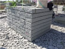 China Light Grey Granite New G603 Kerbstone Cheap
