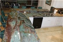 Gaya Botanic Bordeaux Kitchen Perimeter Counter Top