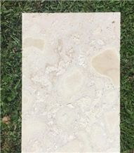 Dominican White Coral Stone Tiles