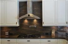 Elegant Brown Quartzite Kitchen Bench Top, Elegant Dune Island Top