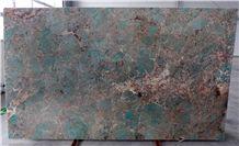Amazonite Slabs & Tiles, Amazonita Granite Slabs
