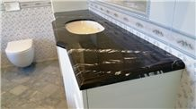 Nero Marquina Select Marble Bath Top