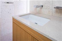 Charme Beige Honed Retreat Design Vanity Top