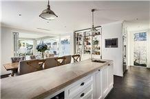 Giron Beige Limestone Honed Kitchen Countertop