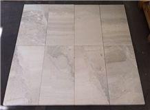 Giron Grey Sandblasted Brushed 610x305x30mm Tiles