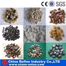 Mixed Colorful Tumbled Gravel Stone, Polished River Stones,Cobble Stone,Pebble Stone for Garden Decoration in Hot Market,Cheap Pebbles Walkway and Driveway Exterior Flooring Paving Stone