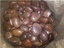 Polished Red Pebbles,Pebblestone,River Stone