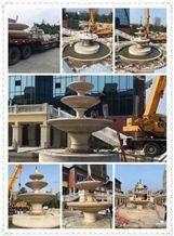 Popular Style Granite Garden Fountain