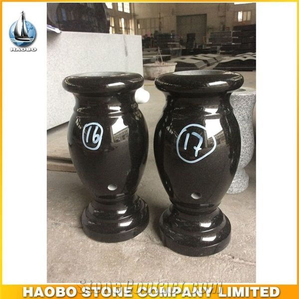 High Quality Memorial Vases For Graves Haobo Stone Company Limited