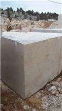 Crema Victoran Beige Marble Blocks, Beige Marble Block Turkey, Da Vinci Beige Marble Raw Block