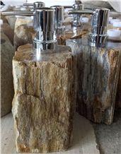 Dispenser Petrified Wood