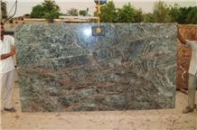 Aqua Forest Blue Marble Slabs