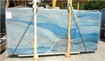 Azul Macaubas Quartzite Slabs & Tiles, Brazil Blue Quartzite