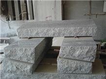 G603 Granite Slant Grave Monument Grey Monument