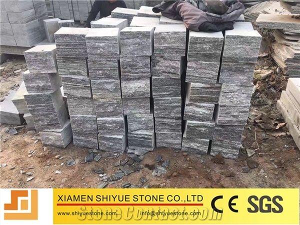 China Natural Stone Granite Negro Santiago Cobblestonepaving Stone