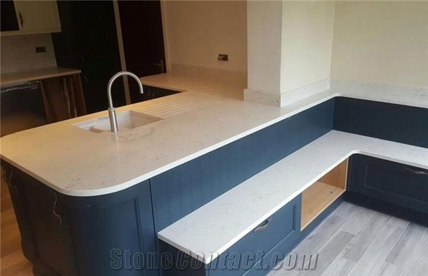 Top Quality Low Price Carrara White Quartz Countertops