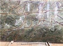 Rainforest Green Marble Big Slabs&Tiles,India Rainforest Green Wall&Floor Covering Tiles,Bidsara Purple Marble Slabs, India Mirage Green,Picasso Green,Radhika Green,Splendore Serata