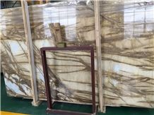 Champagne Gold Marble Slab