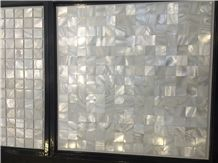 Shell Mosaic Stone Tile, 3d Design Shell Manmade Mosaic Tile for Wall, China Cheap Mosaic on Sales