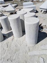 White Granite Palisade,Pillars,Column,Stone Bridge