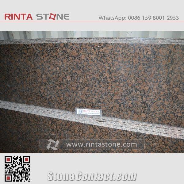 Baltic Red Granite : Baltic brown granite carmen red slabs tiles for