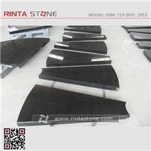 Golden Points Dots Shanxi Absolute Pure Best Black Granite Stone China Hebei Super Beiyue Nero Assoluto Galaxy Star Sesame Taibai Superme Monument Tombstone