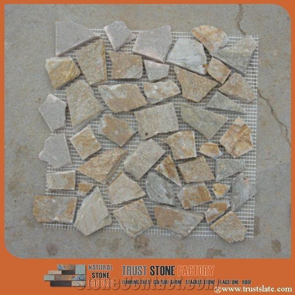Various River Rock Mosaic Tiles Hot