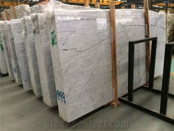Italian White Tile Size Bianco Carrara Marble For SaleBianco - Carrara marble tile sizes