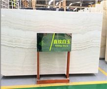 China Best White Jade Onyx Stone Slabs & Tiles
